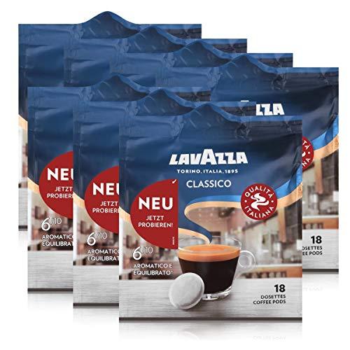 Lavazza Kaffeepads Classico 18 Pads - Für Kaffee-Padmaschinen 125g (7er Pack)