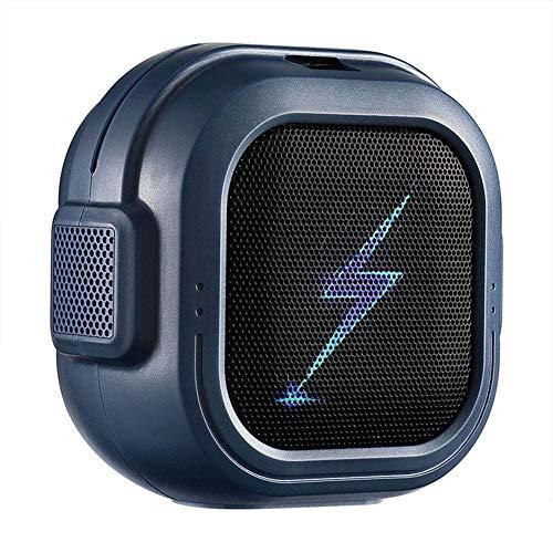 Ramoni Travel Case Packed, Wireless Mini Bluetooth Speaker with Custom Bass Radiator Small But Loud