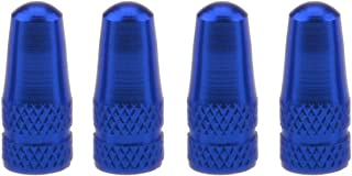 Wowlife 4X Bike Bicycle Road Racing Colour Presta Valve Cap Dust Covers