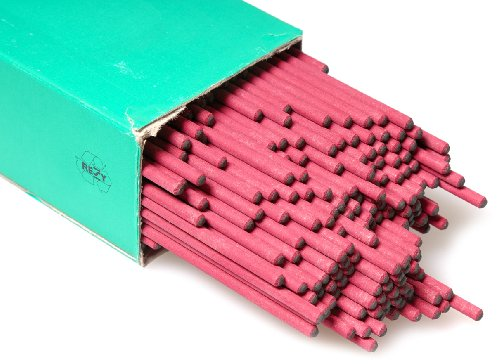 Aparoli 100541 - Elettrodi professionali non legati a matita, 2,5 mm, diametro 4,4 kg, confezione da 1000 pezzi, colore: Rosso
