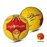 OPTIMUM - Balón de Balonmano para Hombre, Color Amarillo, tamaño Talla 2