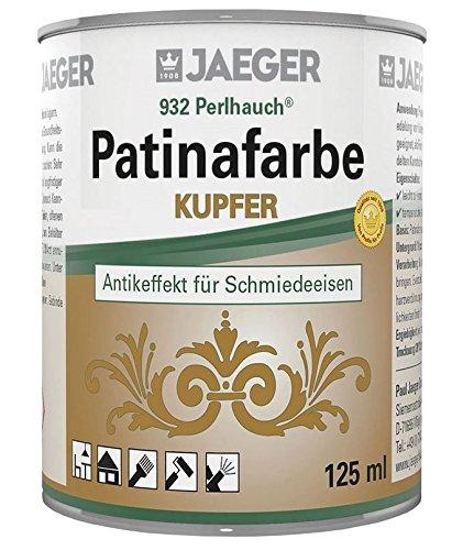 Perlhauch Patinafarbe zum Patinieren von Kunstschmiedearbeiten 125 ml (kupfer)