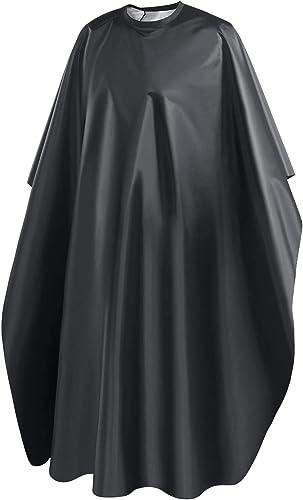 URAQT Cape de Coiffure, Capes de Coiffeur de Salon Pleine Longueur, Robe de Coiffure Professionnelle Cape de Coiffeur...