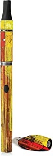 MightySkins Skin Compatible with G Slim Vape Pen - Painted Wood | Protective, Durable, and Unique Vinyl Decal wrap Cover | Easy to Apply, Remove, and Change Styles | Made in The USA