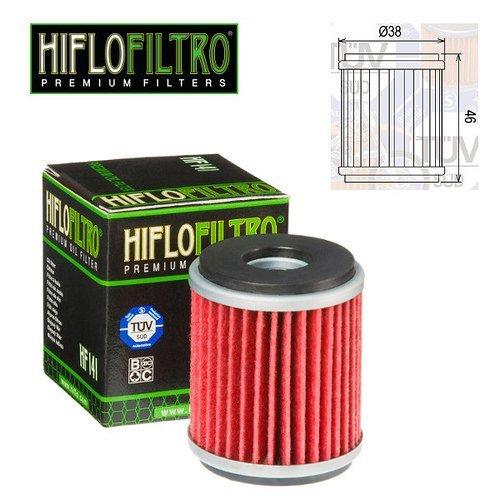 Motor Ölfilter Hiflo HF141Für Yamaha WR 125R 2010