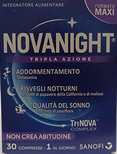 Novanight 30 compresse - Formato Maxi - 1 al giorno