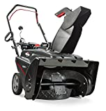 Briggs & Stratton 1022ER 22-Inch Single-Stage Snow Blower with Push Button Electric Start and Remote Chute Rotation Crank