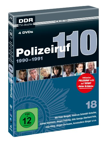 Polizeiruf 110 - Box 18: 1990-1991 (DDR TV-Archiv) (4 DVDs)
