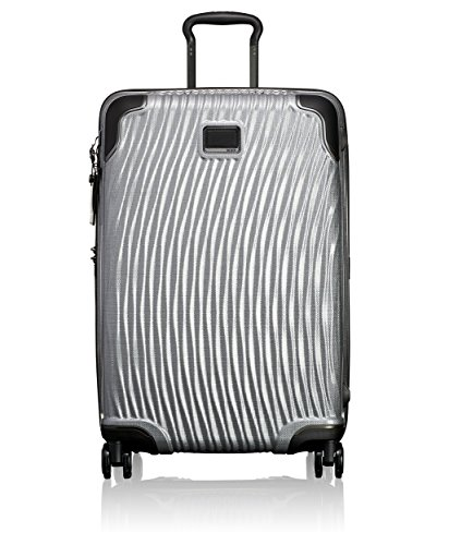 TUMI - Latitude Short Trip Hardside Packing Case Medium Suitcase - Rolling Luggage for Men and Women - Silver