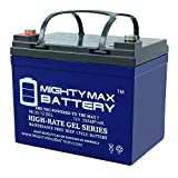 Mighty Max Battery 12V 35AH Gel Replacement for Yamaha Rhino Utility Vehicle UTV Brand Product