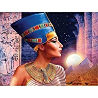 大人と12歳以上の子供向けのジグソーパズル300ピース古代エジプトの肖像画300ピースのジグソーパズル-23x15インチ(52 x 38cm)