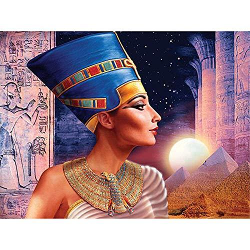 Puzzle para Adultos,Puzzle 1000 Piezas, Retrato del antiguo egipto Decoración para El Hogar, Rompecabezas de Piso Juego de Rompecabezas Divertido Juego Familiar para Adolescentes, Regalos para Amigos
