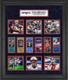 Tom Brady New England Patriots Framed 23' x 27' 6-Time Super Bowl Champion Ticket Collage - NFL Player Plaques and Collages