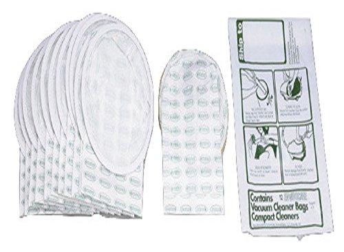 Compact Tristar bote para bolsas de papel de 2capas 12Pk # 738SEC