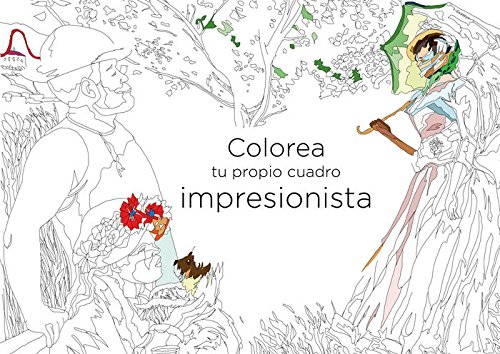 Colorea tu propio cuadro impresionista