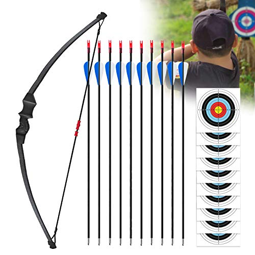 Adust Recurve Bow and Arrows Set for Kids