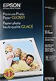 Epson Premium Photo Paper GLOSSY (13x19 Inches, 20 Sheets) (S041289),White