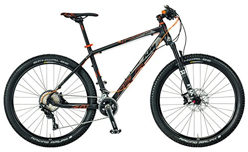 KTM Ultra Race 27 MTB 2017 schwarz matt grau orange RH 48, 11,70 kg