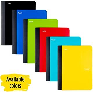 Five Star Composition Book, Notebook, College Ruled Paper, 100 Sheets, 9-1/2 x 7-1/2, Color Selected For You, 1 Count (09120)
