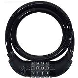 Ruler(ルーラー) SELECT LOCK ダイヤル式ワイヤーロック 90cm x 10mm [4桁ダイヤル] ブラック SL-910BK
