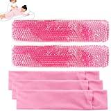 Reusable Perineal Cooling Pad, Perineal Cold Packs, Postpartum and Hemorrhoid Pain Relief, Hot & Cold Packs for Women After Pregnancy and Delivery(2 Pcs+3 Washable Sleeves/10X2.4in)