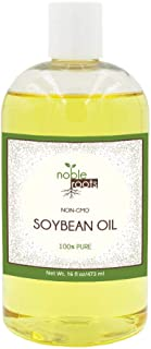 Non-GMO Soybean Oil, by Noble Roots for Hair Conditioning, Has Been Known to Help with Oil Treatment, and Scar Treatment (16 fl oz)