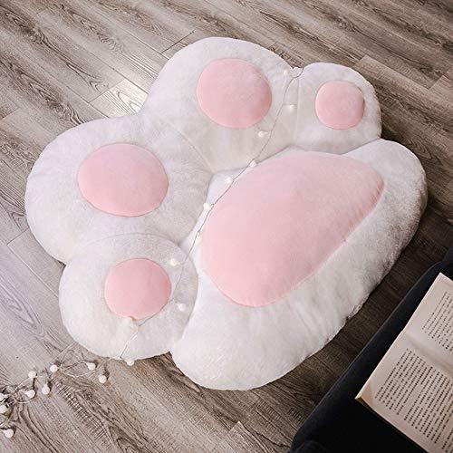 LBSI Katzenklauen-Sitzkissen Übergroßes, Winter-Plüsch-Pfoten-Kissen, Home Sofa Innenboden Warmes Weiches Sitzkissen-Stuhlpolster