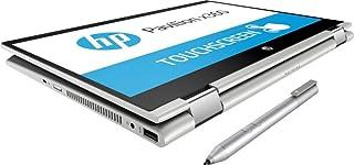 """*新款 HP Pavilion x360 14"""" HD WLED 触摸屏二合一可转换笔记本电脑,英特尔酷睿 i3-8130U 高达 3.4GHz、8GB DDR4、128GB SSD、802.11ac、蓝牙、USB-C、HDMI、HP Active Stylus 笔、Windows 10"""