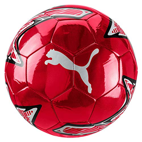 Puma AC Milan Pallone Calcio One Laser Ball 2019/20 - Colore - Rosso, Misure - Uni