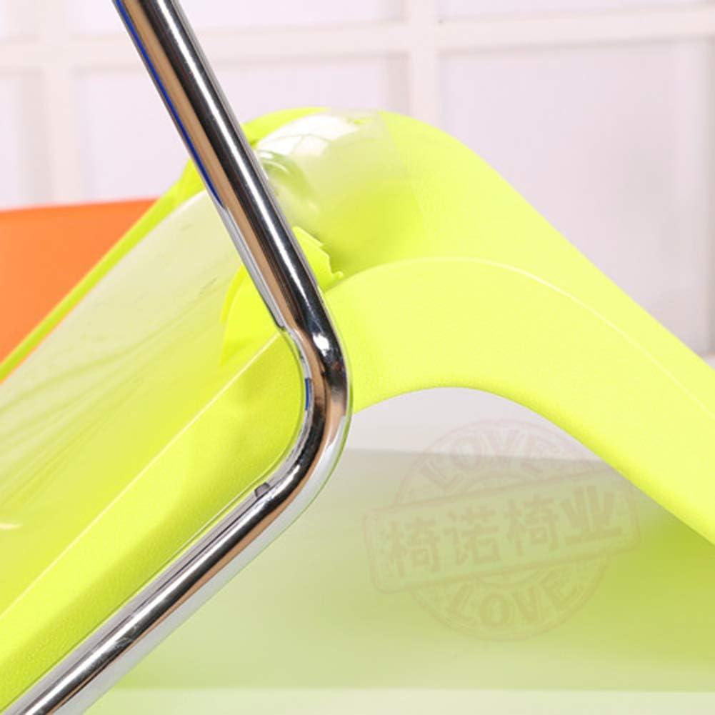 Chaise De Salle À Manger, Chaises en Plastique du Côté Café Moderne, Chaise Longue pour Le Bureau Et La Maison, Bureau À Domicile pour Étudiant,Yellow Black