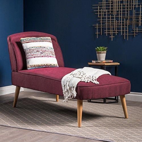 Jolie-Mid-Century-Modern-Wine-Fabric-Chaise-Lounge