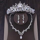 XUEKE Parure de bijoux de mariag...