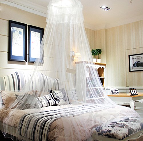HIG mosquito net Bed Canopy - Lace Dome Netting Bedding