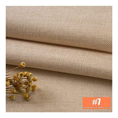 Decoratiekussen, voor bank, borduurwerk, stof, per meter, dik, groot, linnen, katoen, linnen, solide kleur, oude kleur, canvas, linnen, tafelkleed 3*1.5 7