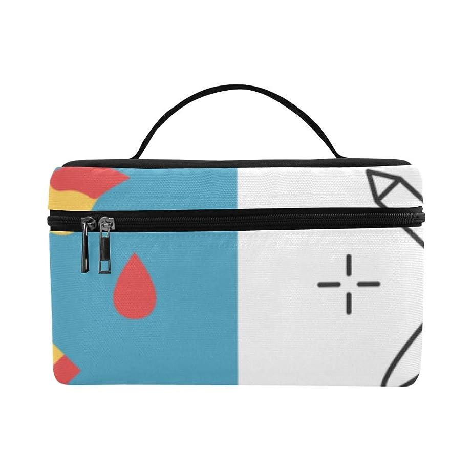 圧倒するホーム例LNJKD メイクボックス ペン コスメ収納 化粧品収納ケース 大容量 収納ボックス 化粧品入れ 化粧バッグ 旅行用 メイクブラシバッグ 化粧箱 持ち運び便利 プロ用