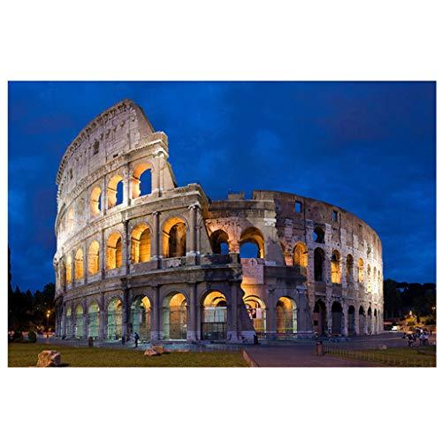 Hey Caterpillar 5D diamant schilderij Romeinse gebouw 5D diamant schilderen DIY borduurwerk kruis steek huisdecoratie voor kinderen volwassenen