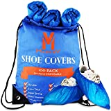 Thick Shoe Covers For Indoors Disposable - 100 Pack...