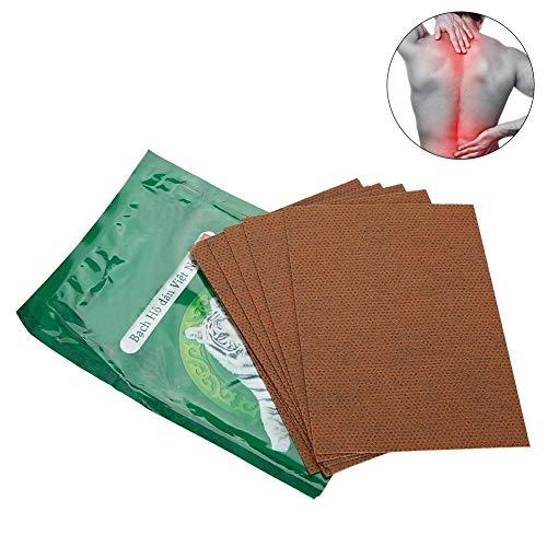 8PCS Parche para Aliviar Dolor Yeso de bálsamo de tigre blanco para artritis,articulaciones de la rodilla,espalda,Parche térmico articulación y relajación muscular para mujeres y hombres