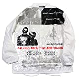 TALKING ABOUT THE ABSTRACTION Film Print Coach Jacket ホワイト 2(MENS