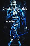 Cristiano Ronaldo: journal notebook for writing 120 page 6*9