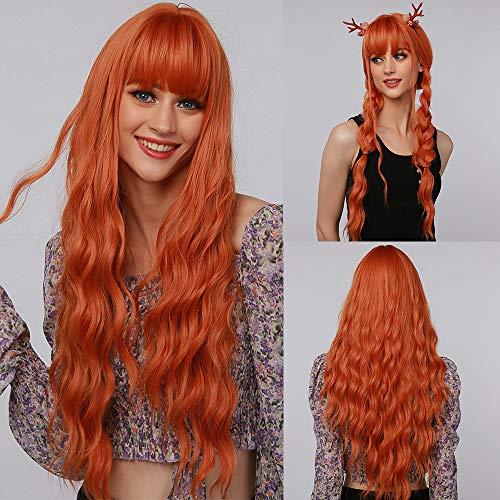 obtener pelucas mujer naranja on line