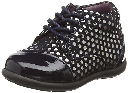 Mod8 Lou, Chaussures Premiers Pas Garçon Fille, Bleu (Marine imprimé), 20 EU