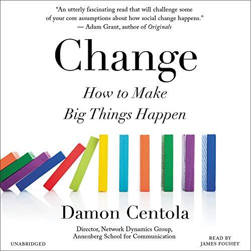 Change Audiobook By Damon Centola cover art