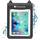 Roxie 7 10.5 inch Universal Waterproof Case Tablet Dry Bag Pouch Protective Shock Snow Dust Proof Case Cover for Amazon Fire HD 10 Fire HD 8 Fire 7 2019 Fire 7 Kids Edition Fire Tablet with Alexa
