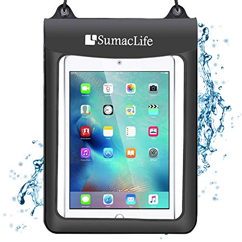 Universal Waterproof Case Tablets Dry Bag Pouch Protective Case Cover for Amazon Fire HD 10 Kindle Fire HDX 8.9 New Fire HD 8 Fire HDX 7 Fire HD 7 Tablet with Alexa Fire HD 8 Kids Edition