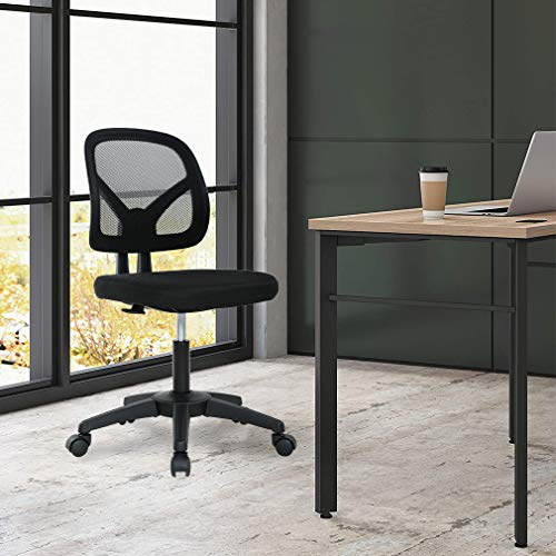 Best Armless Office Chair With Lumbar Support