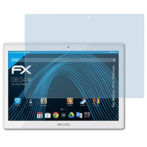 atFolix Schutzfolie kompatibel mit Archos 101b Platinum Folie, ultraklare FX Displayschutzfolie (2X)