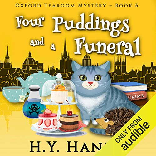 Couverture de Four Puddings and a Funeral
