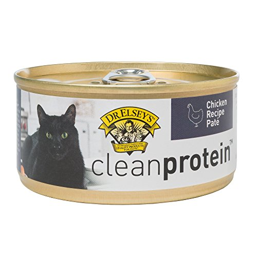 Dr. Elsey's 03255 Clean Protein Grain Free Chicken Formula Canned Cat Food, 5.5 oz (Case of 24)