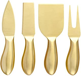 Couteau beurre 4PCST Tool Fromage Gold Slicer Cutter Couteau Creative Graters Cuisine Outils de cuisine Gâteau Spatula Che...
